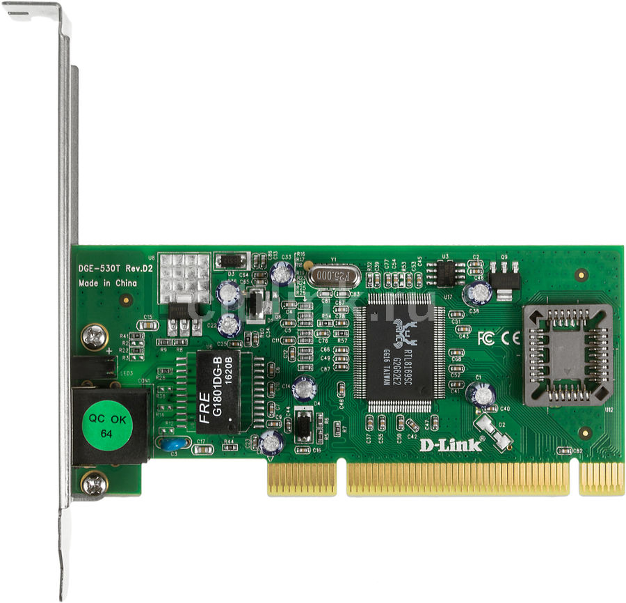 Сетевой адаптер Gigabit Ethernet D-LINK DGE-530T PCI