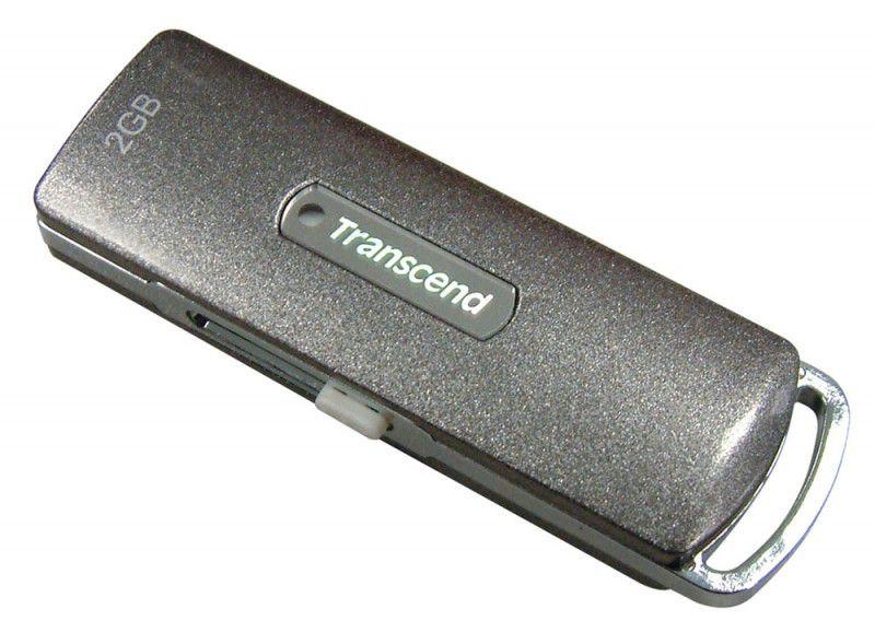Флешка USB TRANSCEND Jetflash 110M 2Гб, USB2.0, серый [ts2gjf110m]