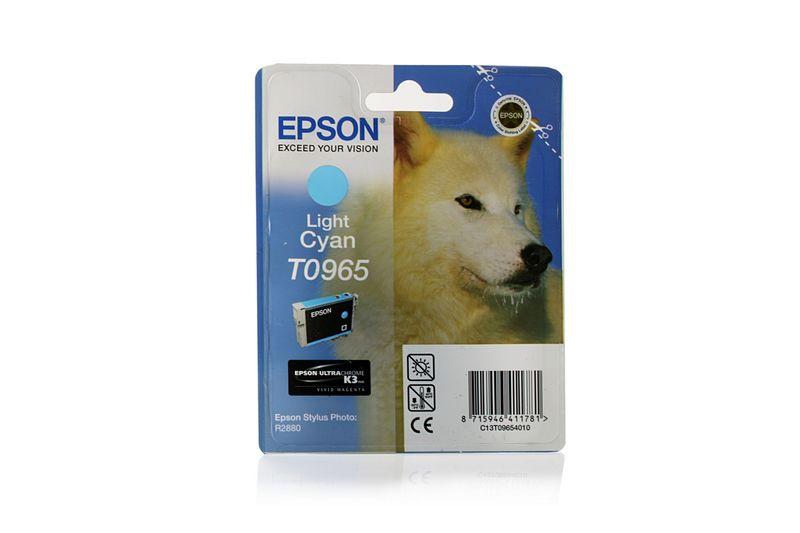 Картридж EPSON T096540 С13T09654010,  светло-голубой [c13t09654010]