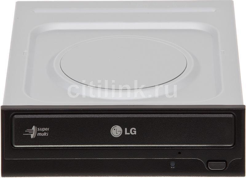 Оптический привод DVD-RW LG GH22NS50, внутренний, SATA, черный,  OEM [gh22ns50.auaa10b]