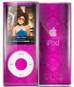 Чехол для iPod Nano Vibes iSkin VBSN4G-TO