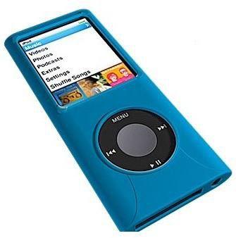 Чехол для iPod Nano iFrogz Blue [n4gwrapz-blue]
