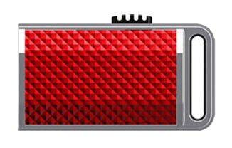 Флешка USB A-DATA Sport 16Гб, USB2.0, красный [s701]