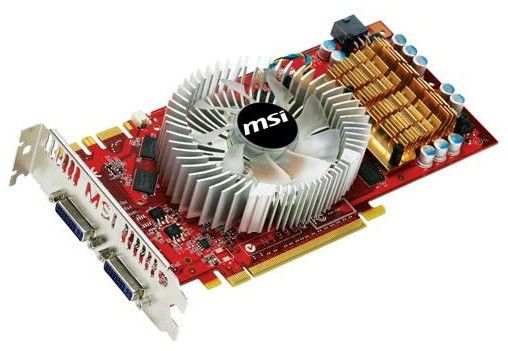 Видеокарта MSI nVidia  GeForce GTS 250 ,  512Мб, DDR3, Ret [n250gts-2d512-oc cyc]