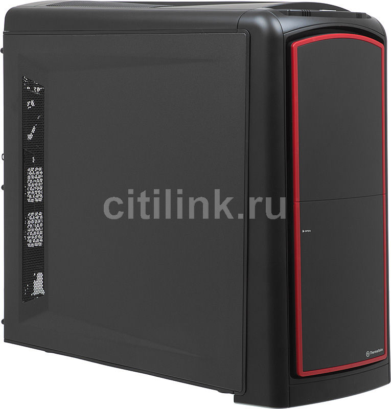 Корпус ATX THERMALTAKE Element S VK60001N2ZE, Midi-Tower, без БП,  черный