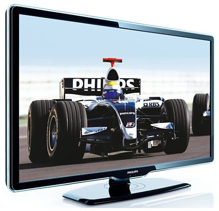 "Телевизор ЖК PHILIPS 42PFL7404H/60  42"", FULL HD (1080p),  черный"