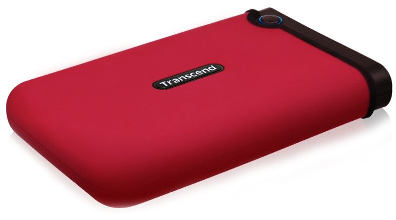 Внешний жесткий диск TRANSCEND StoreJet 25M TS250GSJ25M-R, 250Гб, красный