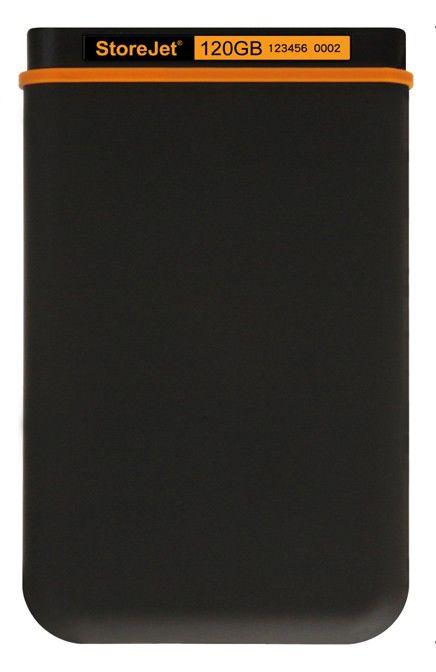 Внешний жесткий диск TRANSCEND StoreJet 18M TS120GSJ18M, 120Гб, черный