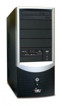 ПК iRU Ergo Corp 124 C2D-E7400/2048/80/HD3850-512Mb/DVD-RW/black
