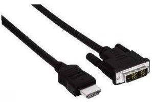 Переходник HDMI HAMA HDMI (m) -  DVI-D (m),  3м [h-56455]