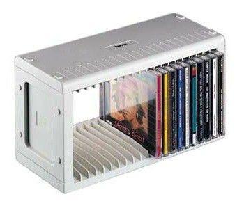 подставка HAMA H-48402, серебристый, для 20 дисков