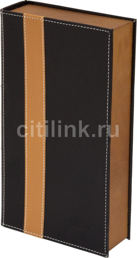 альбом HAMA H-78386, черный+коричневый, для 56 дисков
