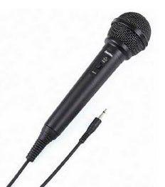 Микрофон HAMA H-46020 DM20,  черный