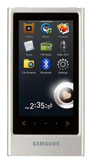 MP3 плеер SAMSUNG YP-P3AB flash 4Гб черный [yp-p3ab/xer]