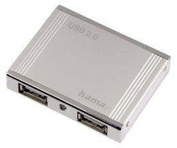 Контроллеры Port/USB HAMA H-78498, серебристый
