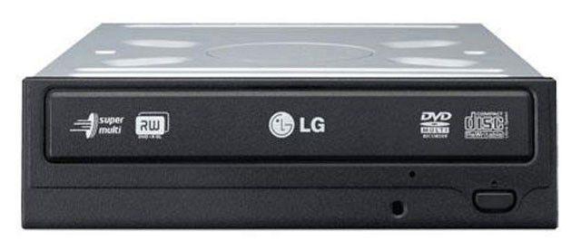 Оптический привод DVD-RW LG GH22LS50, внутренний, SATA, черный,  OEM