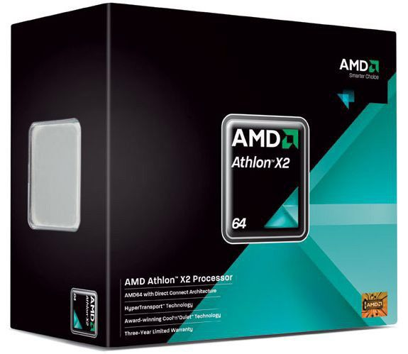Процессор AMD Athlon 64 X2 4850E, SocketAM2 [adh4850dobox]