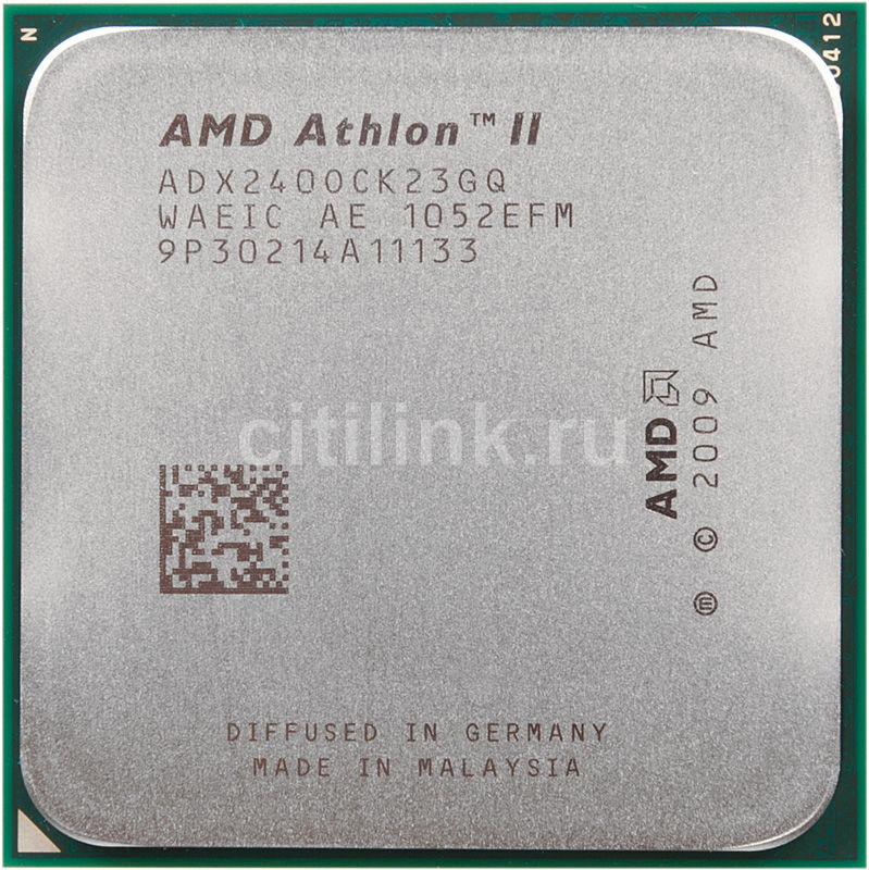 Процессор AMD Athlon II X2 240 ADX240OCK23GМ, SocketAM3 OEM [adx240ock23gq]