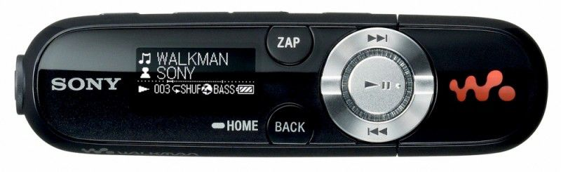 MP3 плеер SONY NWZ-B142FB flash 2Гб черный [nwzb142fb]
