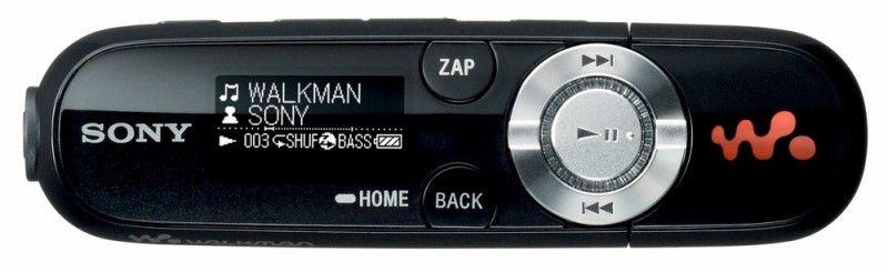 MP3 плеер SONY NWZ-B143FB flash 4Гб черный [nwzb143fb]