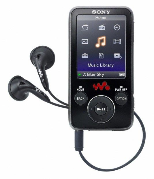 MP3 плеер SONY NWZ-E436FB flash 4Гб черный [nwze436fb]