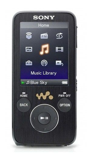 MP3 плеер SONY NWZ-S738FB flash 8Гб черный [nwzs738fb]