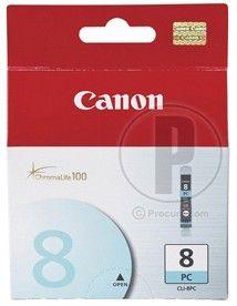 Картридж CANON CLI-8PC голубой [0624b001]