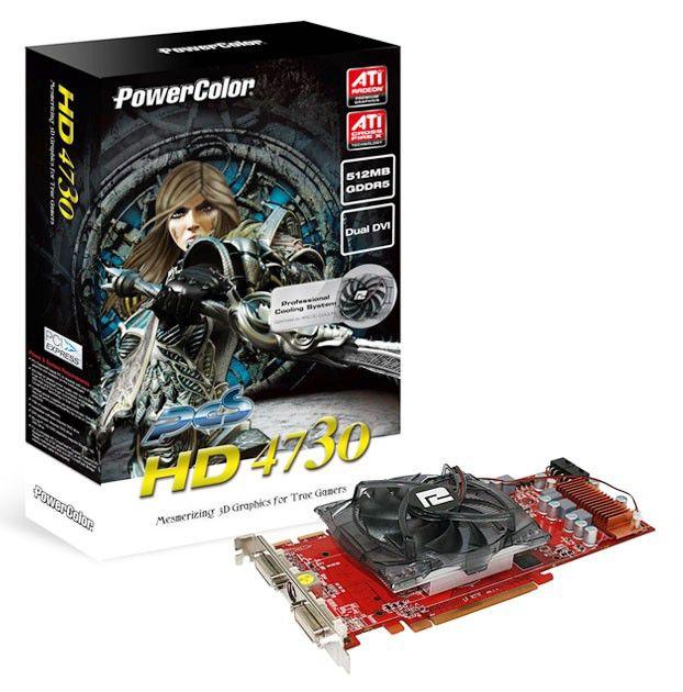 Видеокарта POWERCOLOR Radeon HD 4730,  512Мб, DDR5, Ret [ax4730 512md5-pp]