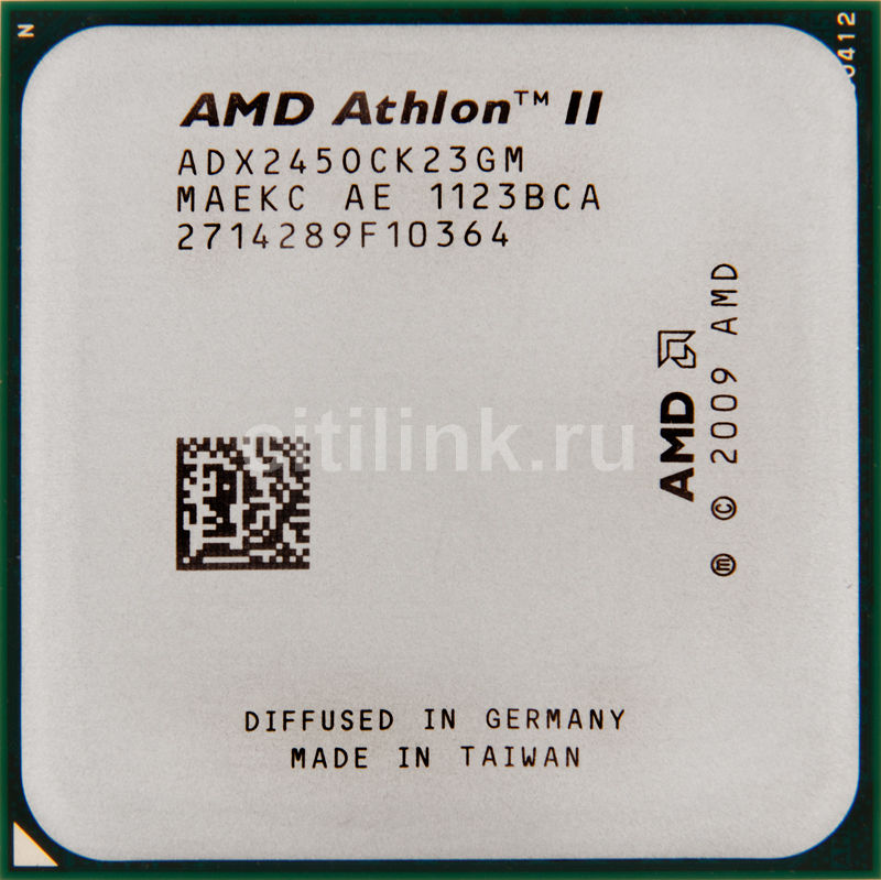 Процессор AMD Athlon II X2 245, SocketAM3 OEM [adx245ock23gm]