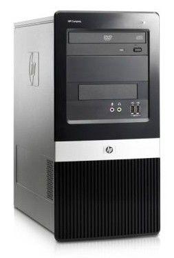 HP dx2420MT,  Intel  Core2 Duo  E7500,  DDR2 2Гб, 320Гб,  Intel GMA X3100,  DVD-RW,  CR,  Windows Vista Business,  черный [vc487ea]
