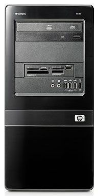 HP dx7500MT,  Intel  Core2 Duo  E8400,  DDR2 2Гб, 320Гб,  Intel GMA X4500HD,  DVD-RW,  CR,  Windows XP Professional,  черный [nn744ea]
