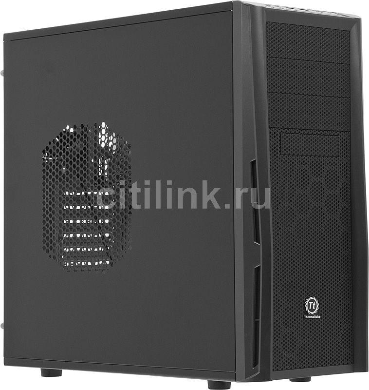 Корпус ATX THERMALTAKE Element T VK90001N2Z, Midi-Tower, без БП,  черный