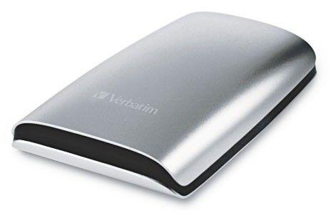 Внешний жесткий диск VERBATIM 250Гб, серебристый [47562]