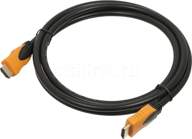 Кабель аудио-видео  BW1517,  HDMI (m)  -  HDMI (m) ,  1.8м, ф/фильтр,  черный