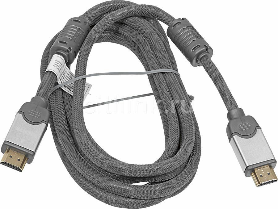 Кабель аудио-видео  BW1518,  HDMI (m)  -  HDMI (m) ,  3м, ф/фильтр