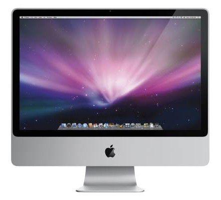 APPLE iMac MB420,  Intel  Core2 Duo  DDR2 4Гб, 1Тб,  nVIDIA Geforce GT130,  DVD-RW,  Mac OS X,  серебристый