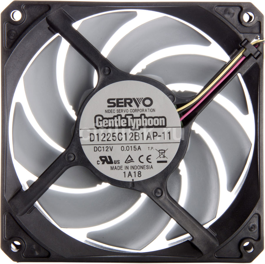 Вентилятор SCYTHE GentleTyphoon D1225C12B1AP-11,  120мм, OEM