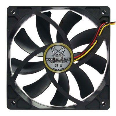 Вентилятор SCYTHE Slip Stream SY1225SL12SL,  120мм, Ret