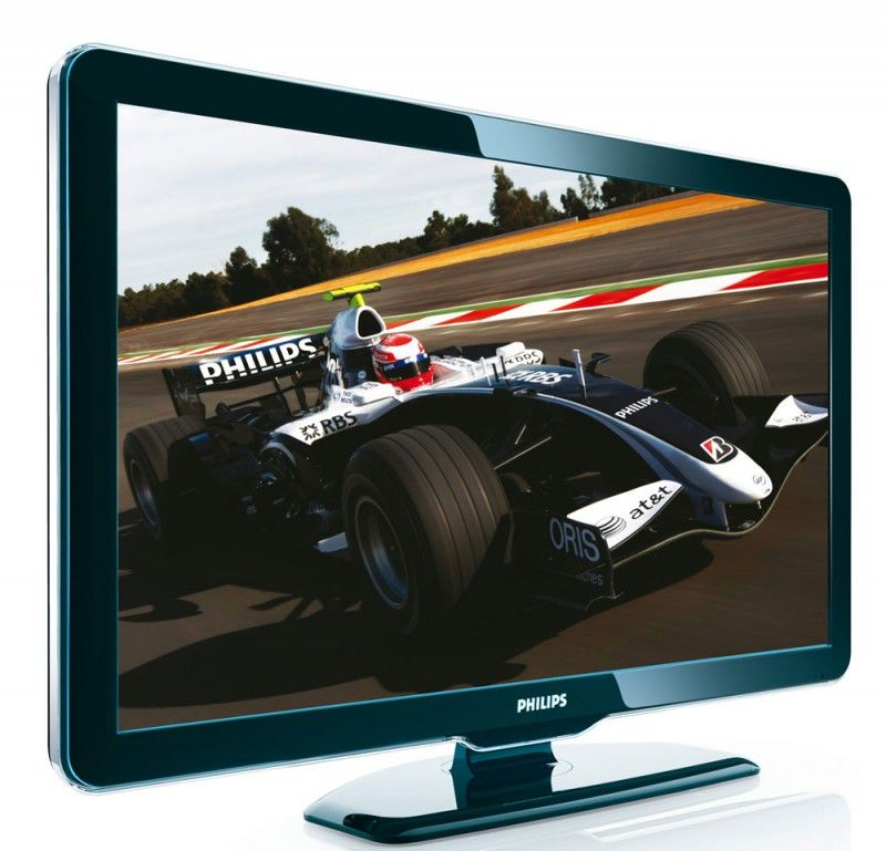"Телевизор ЖК PHILIPS 52PFL5604H/60  52"", FULL HD (1080p),  черный"