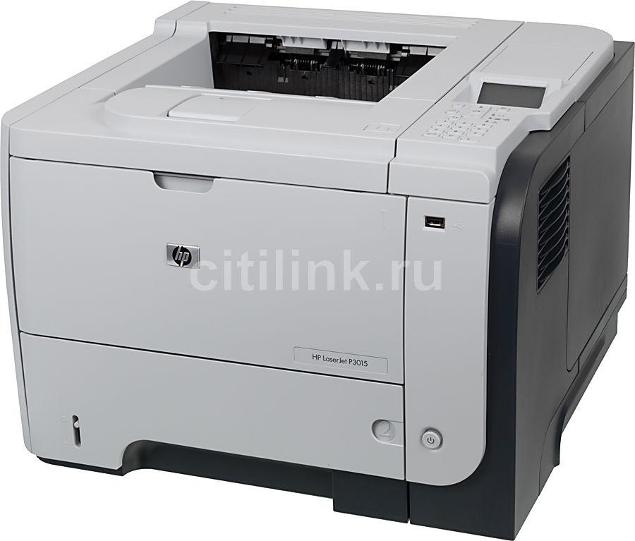 Принтер HP LaserJet P3015d лазерный, цвет:  белый [ce526a]