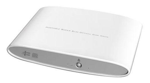 Оптический привод DVD-RW LG GP08NU20, внешний, USB, белый,  Ret [gp08nu20.auae11b]