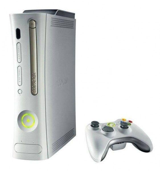 Игровая консоль MICROSOFT Xbox 360 Arcade, белый