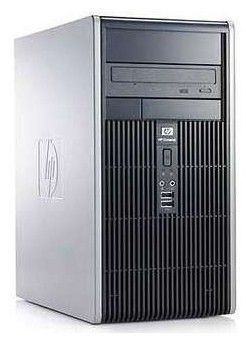 HP Compaq dc5800MT,  Intel  Pentium Dual-Core  E5300,  DDR2 2Гб, 250Гб,  Intel GMA X3100,  Windows Vista Business,  черный [vn761es]