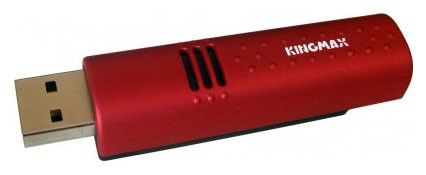 Флешка USB KINGMAX U-Drive Turbo Vaccine 4Гб, USB2.0, красный [ud-01]