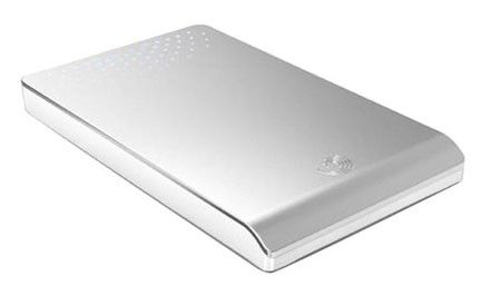 Внешний жесткий диск SEAGATE FreeAgent Go ST906403FGD2E1-RK, 640Гб, серебристый