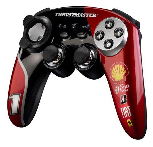 Геймпад беспроводной THRUSTMASTER F1 Wireless GamepadFerrari F60 [2960719]