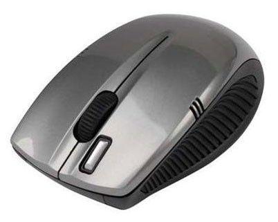 Мышь A4 G7-540-2 оптическая беспроводная USB, серебристый
