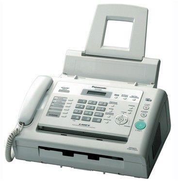 Факс PANASONIC KX-FL423RUW,  лазерный,  белый
