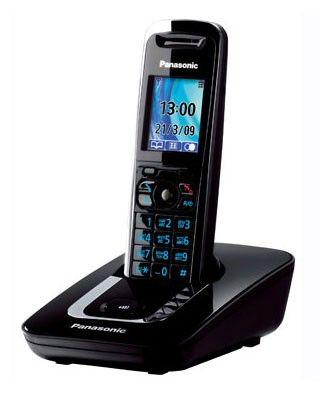 Радиотелефон PANASONIC KX-TG8411RUB,  черный