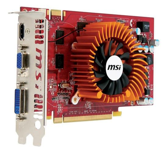 Видеокарта MSI GeForce 9800 GT,  512Мб, DDR3, oem [n9800gt-md512]